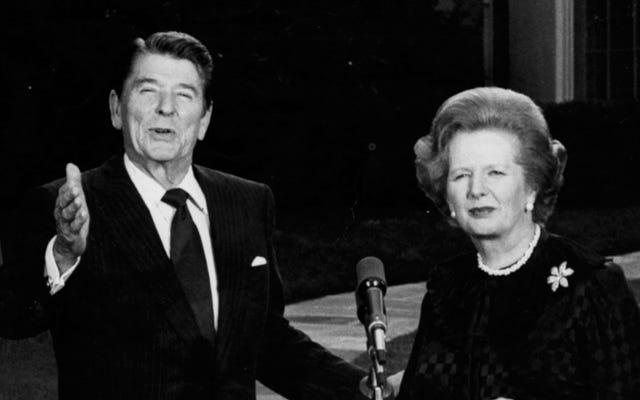 Ronald Reagan, Margaret Thatcher'ı Tom Clancy'yi Okuması İçin Konuşmaya Çalıştı