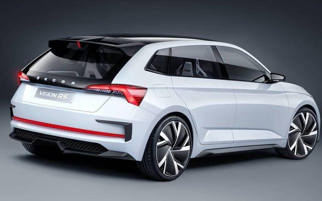 Le concept Skoda Vision RS apporte la puissance hybride au monde de Hot Hatch
