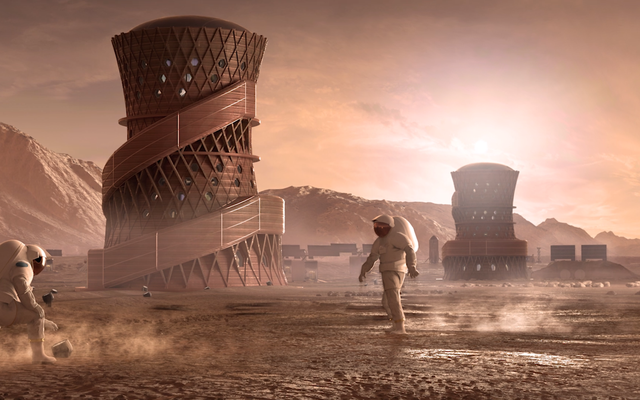 Kongres Semakin Serius Tentang Mengirim Manusia ke Mars pada 2033