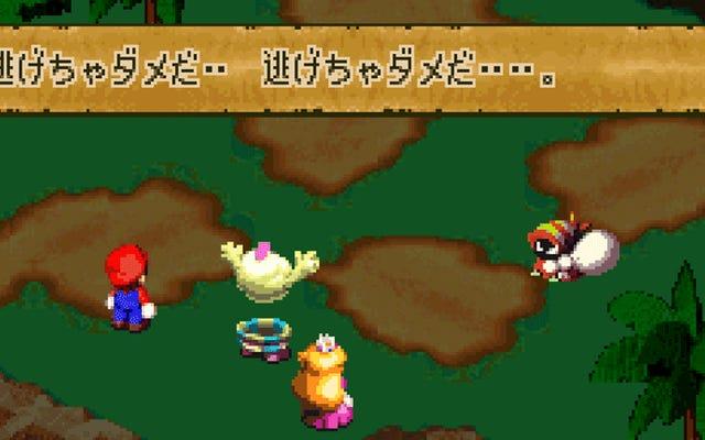 Versi Jepang Super Mario RPG Penuh Dengan Tribut Anime