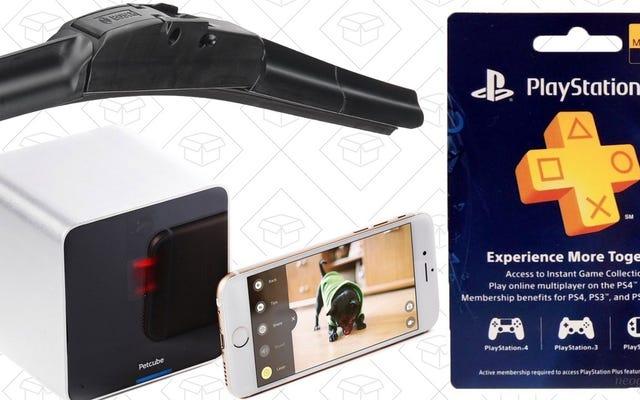 Penawaran Terbaik Hari Ini: Smart Pet Toy, PlayStation Plus, Wiper Blades Murah, dan Lainnya