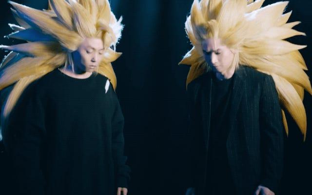 Gerçek Hayat Dragon Ball Saç Pratik Değildir