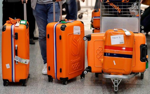Les physiciens pensent savoir comment empêcher votre valise Rolly de basculer