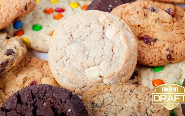 Takeout'un fantastik yemek taslağı: En iyi kurabiyeler