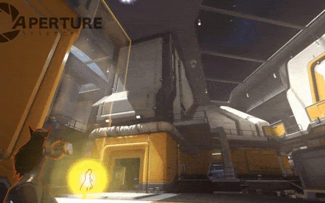 Overwatch Oyuncuları Atölyede Tamamen İşlevsel Portal Silahı Yapıyor