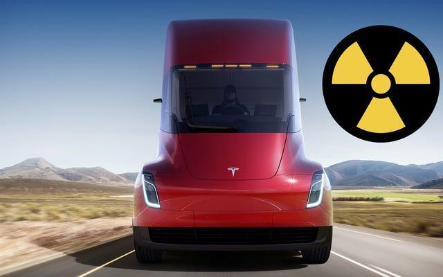 Actualidad: Elon Musk dice que su nuevo camión Tesla puede sobrevivir a una bomba nuclear