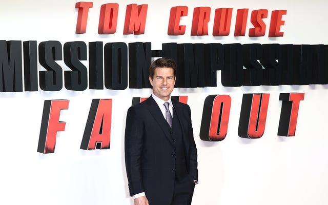 Hôm qua gần như loại bỏ thế giới của Tom Cruise, quá