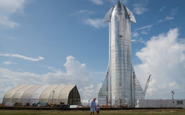 SpaceX planuje swój pierwszy lot testowy na dużej wysokości w przyszłym tygodniu