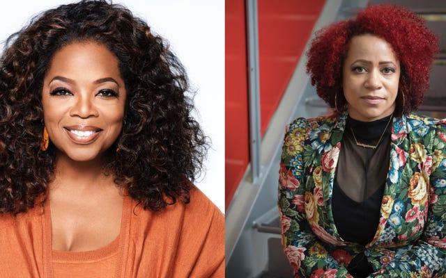 Eksklusif: Oprah Winfrey, Nikole Hannah-Jones, Lionsgate, dan The New York Times untuk Mengadaptasi Proyek 1619 Menjadi Film, Pemrograman TV, dan Lainnya