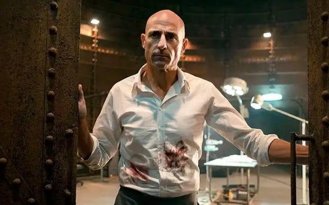 This October, Mondays are for the depraved Mark Strong and Eric Andre