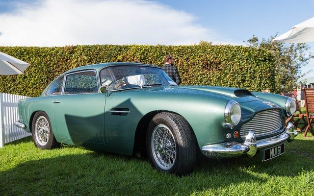 Это то, что означает DB в автомобилях Aston Martin DB