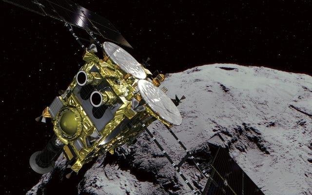 La sonda giapponese per l'asteroide sta finalmente tornando sulla Terra con il suo prezioso carico