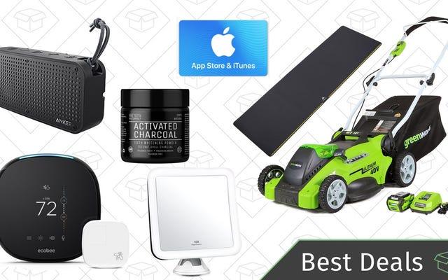 Pazartesinin En İyi Fırsatları: Akıllı Termostat, Su Geçirmez Hoparlör, iTunes Hediye Kartı ve Daha Fazlası