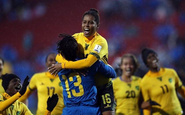 ジャマイカのレゲエガールズが、ボブマーリーの娘からのビッグアシストのおかげで、女子ワールドカップを作る最初のカリブ海チームになりました