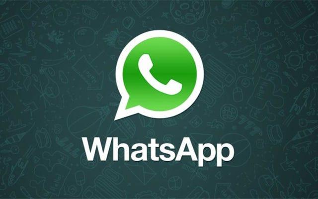 WhatsAppはすべての人に無料で提供され、サブスクリプションは必要ありません