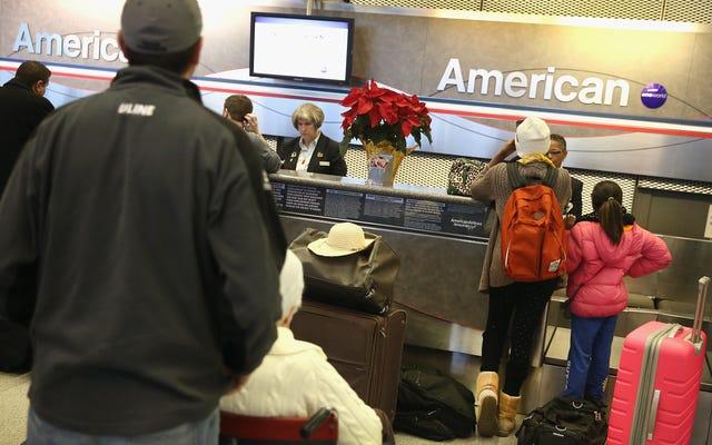 คริสต์มาสของคุณอาจถูกยกเลิกเนื่องจากความผิดพลาดของ American Airlines