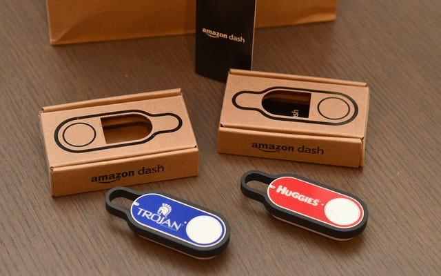 RIP Amazon Dash Button-あなたは生きているうちに死んだ、一種の不必要