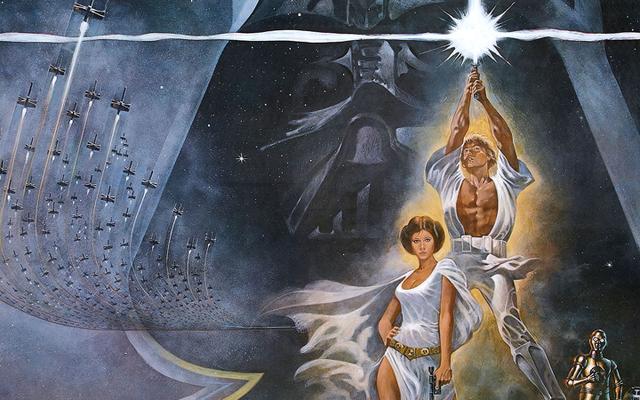 Una película original impresa de Star Wars ha sido restaurada y lanzada en línea