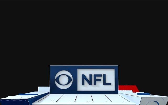 CBS pokazuje reklamy w pustce po przerwie w zasilaniu, która zakłóca transmisję Chiefs-Jaguars