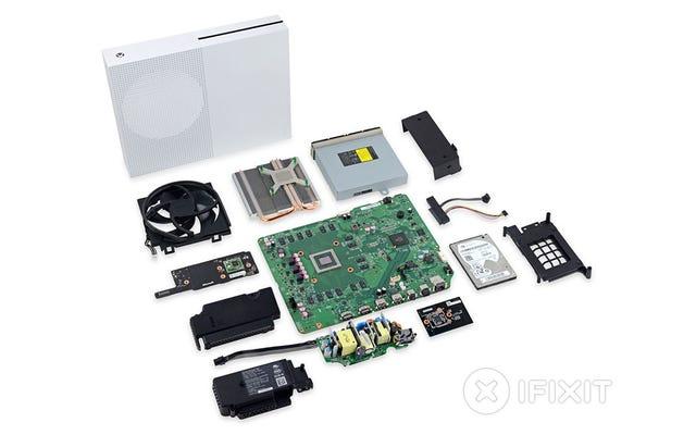 Qué hay dentro de la Xbox One S