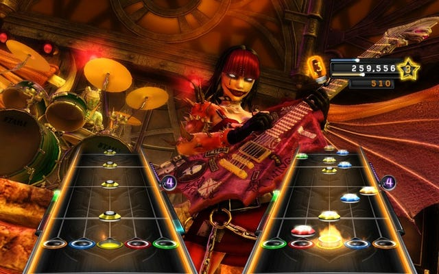 GuitarHeroが戻ってきたときに壊すことができる24曲がここにあります