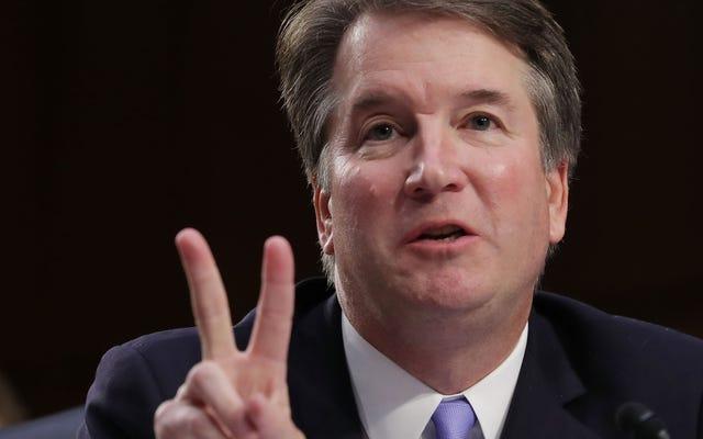上院司法は彼らが実際にカバノーの調査について気を悪くするように行動し続けます