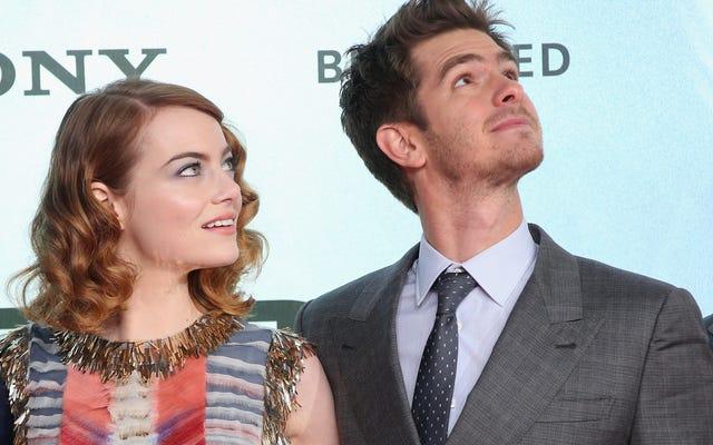 Il était une fois Emma Stone et Andrew Garfield se sont élevés et sont allés à Disneyland