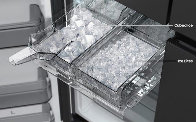 Les réfrigérateurs adoptent enfin la bonne glace