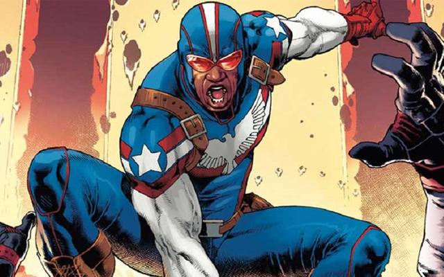 Secret Empire nos está dando un nuevo patriota para luchar contra Steve Rogers