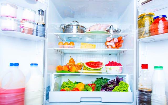 냉장고의 이상적인 온도는 얼마입니까?