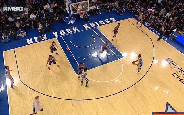 Baby Knicks Fonksiyonel Bir Basketbol Takımı Olmanın İşaretlerini Veriyor