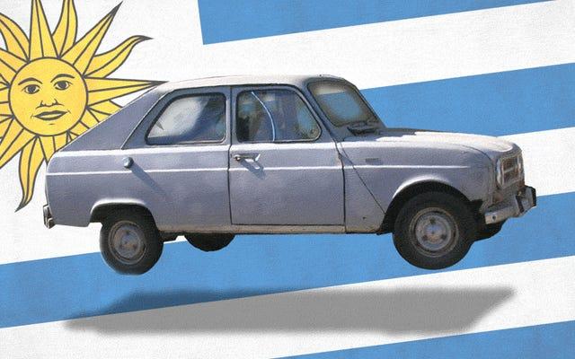 รถที่สร้างขึ้นรอบ ๆ ช่องโหว่: Renault 4S Mini