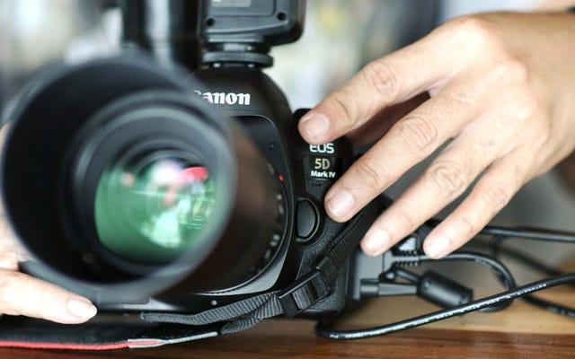 Canon DSLR'nizi Bu Ücretsiz Uygulamayla Web Kamerasına Dönüştürün