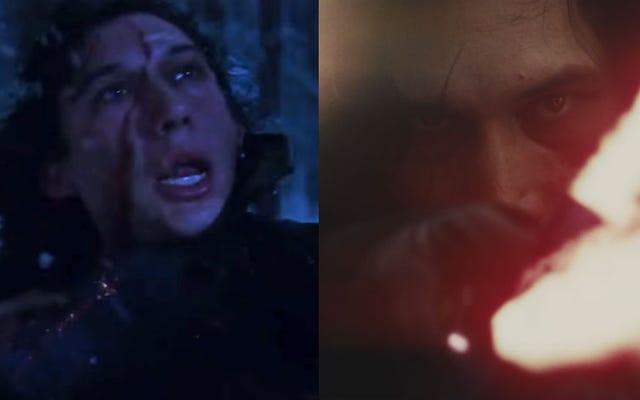 Райан Джонсон изменил шрам Кайло Рена в фильме «Последний джедай», потому что он думал, что это выглядело глупо