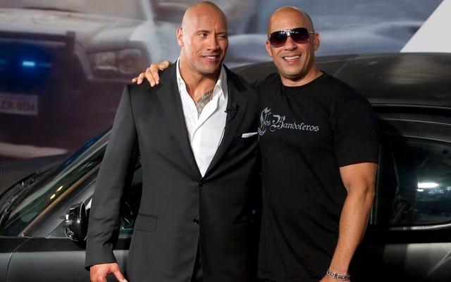 Dengan menyesal kami memberi tahu Anda bahwa Vin Diesel-lah yang paling menarik