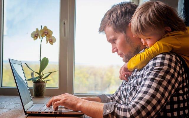あなたの子供が家にいるときに仕事を成し遂げる方法