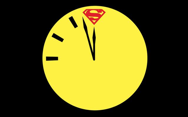 सुपरमैन और वॉचमैन के डॉ। मैनहट्टन डूम्सडे क्लॉक में संघर्ष करेंगे