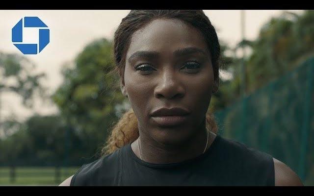 Mama Said Knock You Out: Serena Williams canalizza LL Cool J in un nuovo spot per Chase