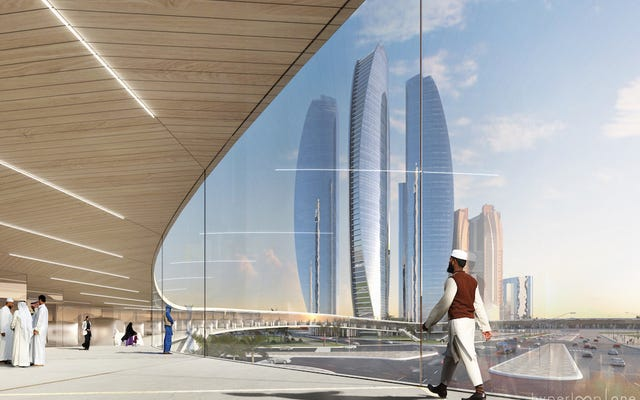 Hyperloop znalazł swój idealny dom w Dubaju
