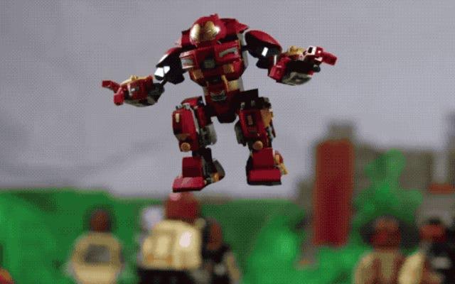 アベンジャーズからのこのシーン:インフィニティウォーはレゴで作られたほとんど叙事詩です