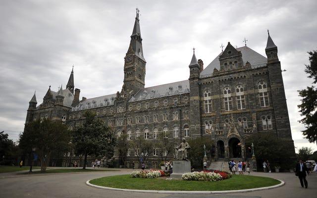 ジョージタウン大学が販売した272人の奴隷の子孫に入学の利点を提供する