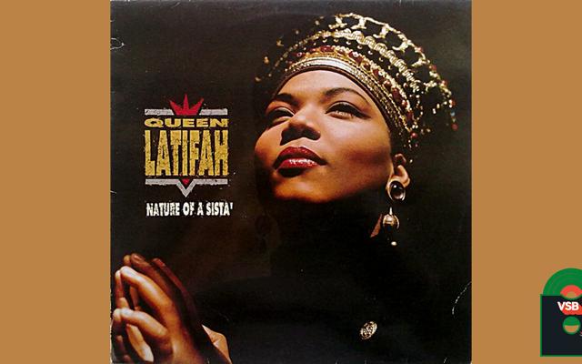 28日間のアルバムカバーの黒さをVSBで、6日目:ラティファ女王のシスタの性質 '(1991)