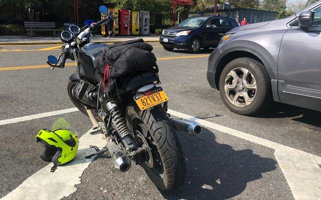 Jakoś nie umarłem na tej głupiej wycieczce motocyklowej