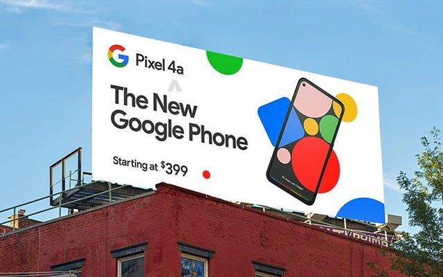 Perdite di prezzo di Pixel 4A a $ 400: ecco tutto il resto che sappiamo