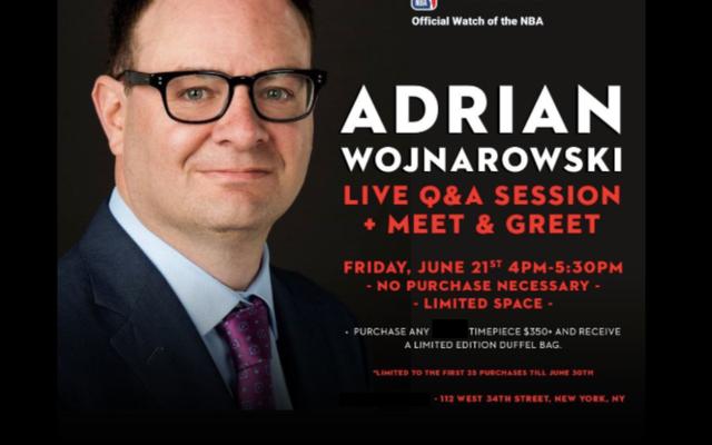 Adrian Wojnarowski d'ESPN est maintenant un shill d'entreprise pour un sponsor NBA