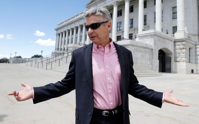 Gary Johnson veut se battre pour votre droit de vapoter