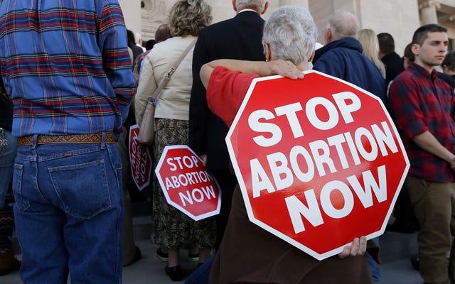 Запрет на аборты в Арканзасе заблокирован