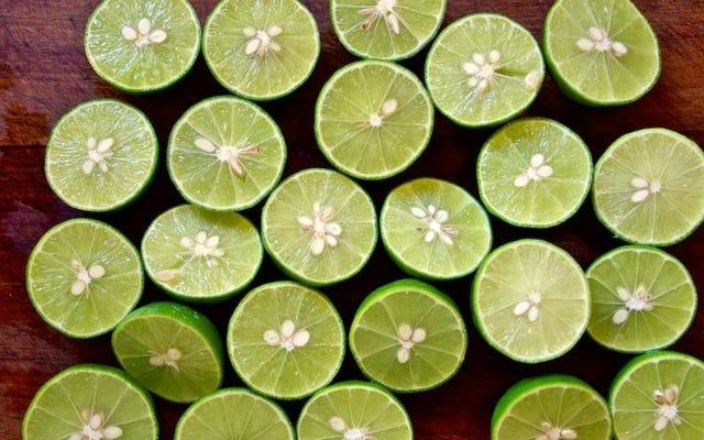 I lime conservati a due ingredienti sono facili e aggiungono un sapore luminoso e agrumato a qualsiasi cosa