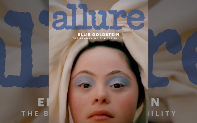 ปก Allure ของ Ellie Goldstein คือความสดใสของแฟชั่น