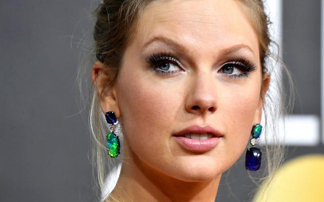 Patung Supremasi Putih Bisa Bercinta Mati dan Mati, Kata Taylor Swift